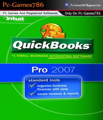 Pin by Faisal Gujjar on QuickBooks Pro 2007 With Crack Free