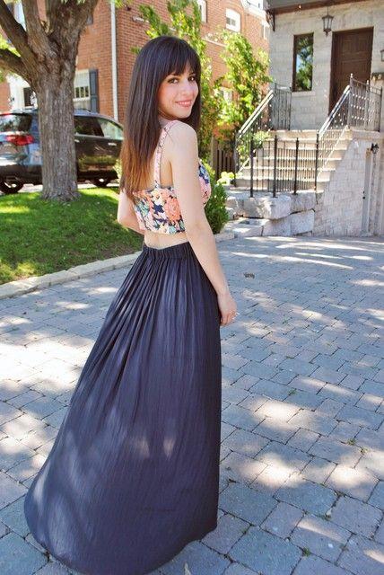 5c78b4fb8 Looks con faldas largas Zara - Trendtation | Faldas | Faldas largas ...