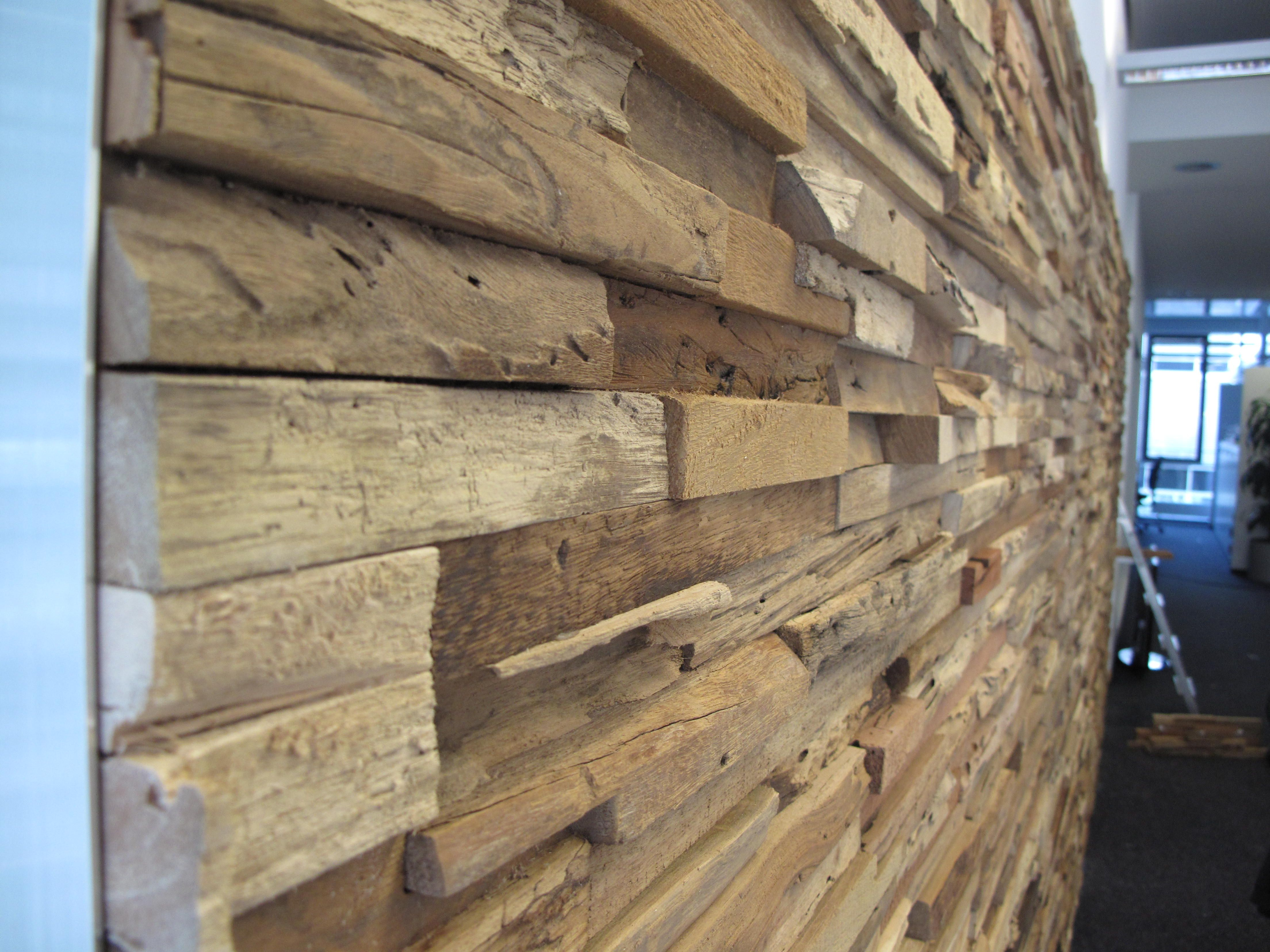 Wandverkleidung Mit Alu Abschlusswinkel Wandverkleidung Wandverkleidung Holz Wandpaneele Holz