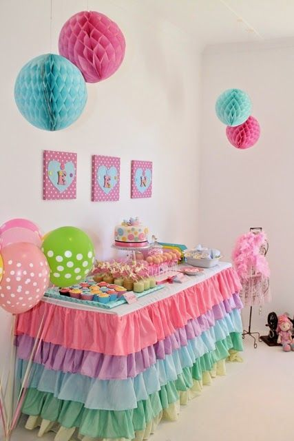 Birthday Decoration Girl