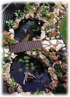40+ Erstaunlicher Hinterhof Teichen und Wassergarten Landschaftsbau Ideen - Badezimmer-002