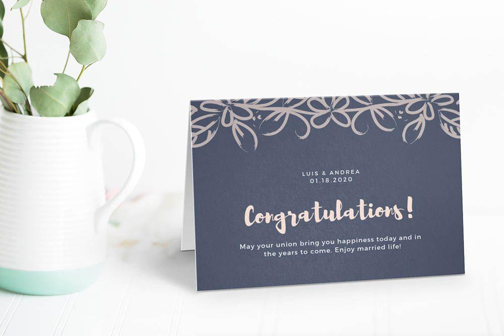 Landscape Folded Greeting Card Invitation Mockup Generator Invitation Mockup Invitation Cards Invitations