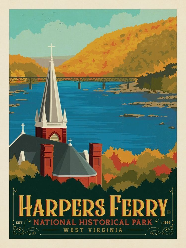 Harpers ferry national park west virginia anderson