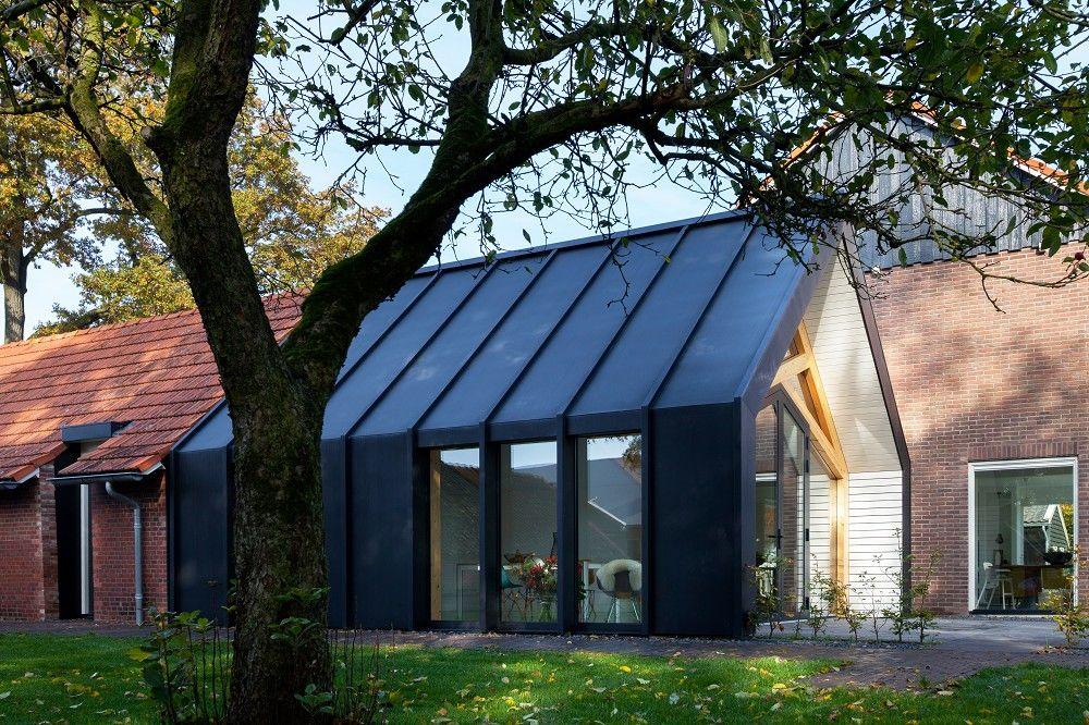 Afbeeldingsresultaat voor moderne aanbouw oud huis ideeën voor het