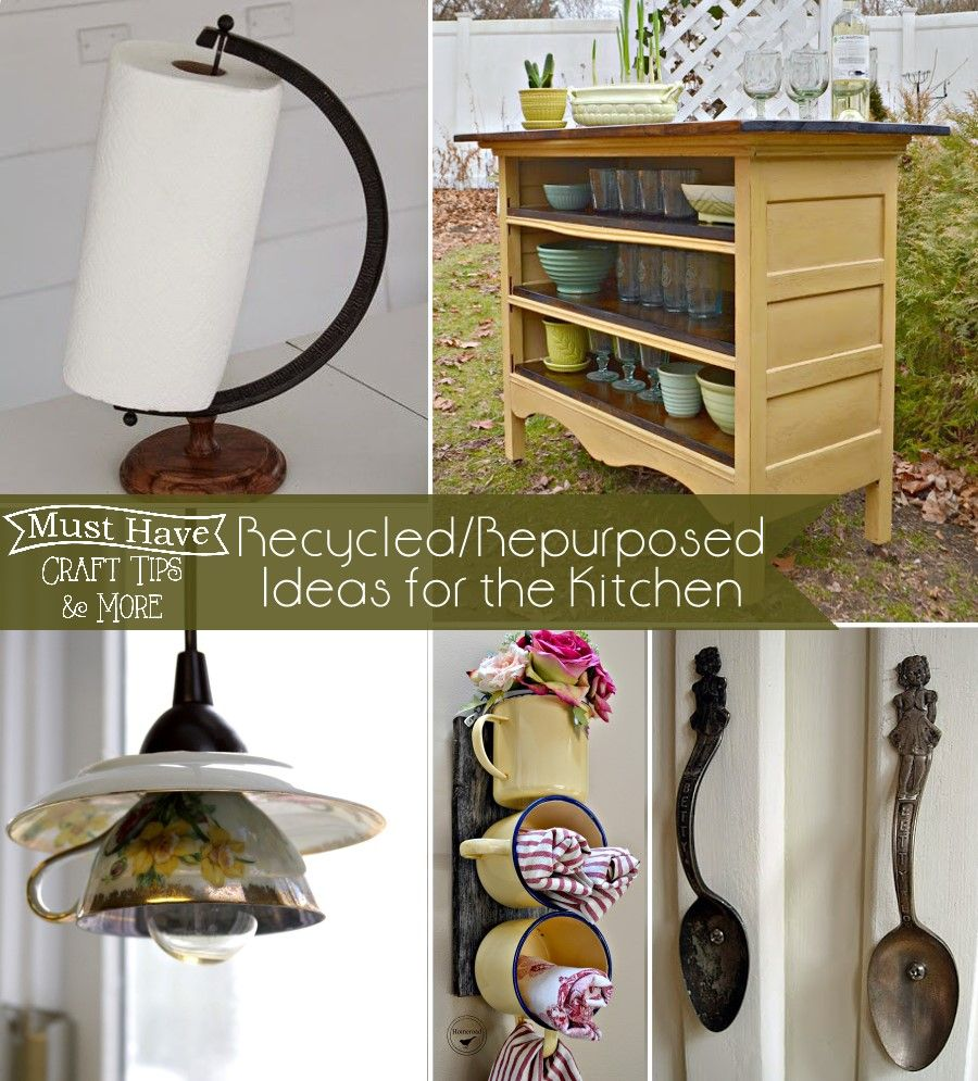 Upcycle Your Kitchen Items