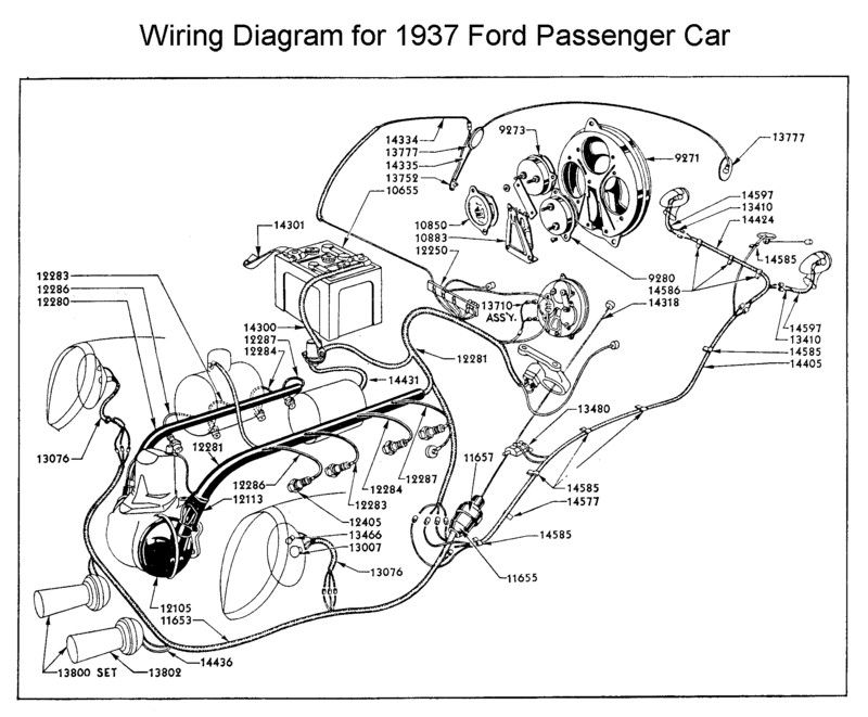 0db2d1aacf903894e4941548c6c8fb4c wiring diagram for 1937 ford wiring pinterest ford 1951 Ford Tudor at alyssarenee.co