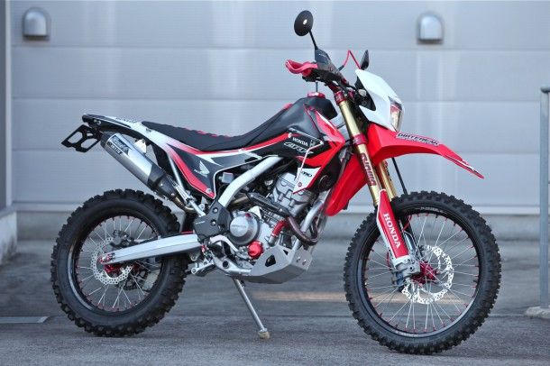 Honda Crf250l Customize By ダートフリーク Dirt Sports 250l