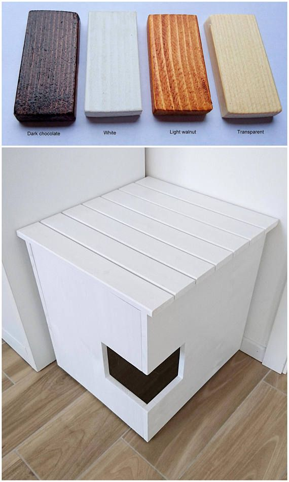 New top Entry Litter Box Furniture