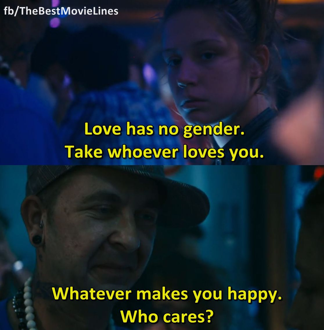 50 Great Blue Is The Warmest Color Quotes Allquotesideas