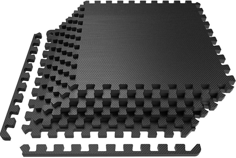 Ad Ebay Levoit Puzzle Exercise Mat Premium Eva Foam Interlocking
