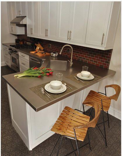 Diseño de cocina pequeña con ideas y fotos   Diseños de cocinas ...
