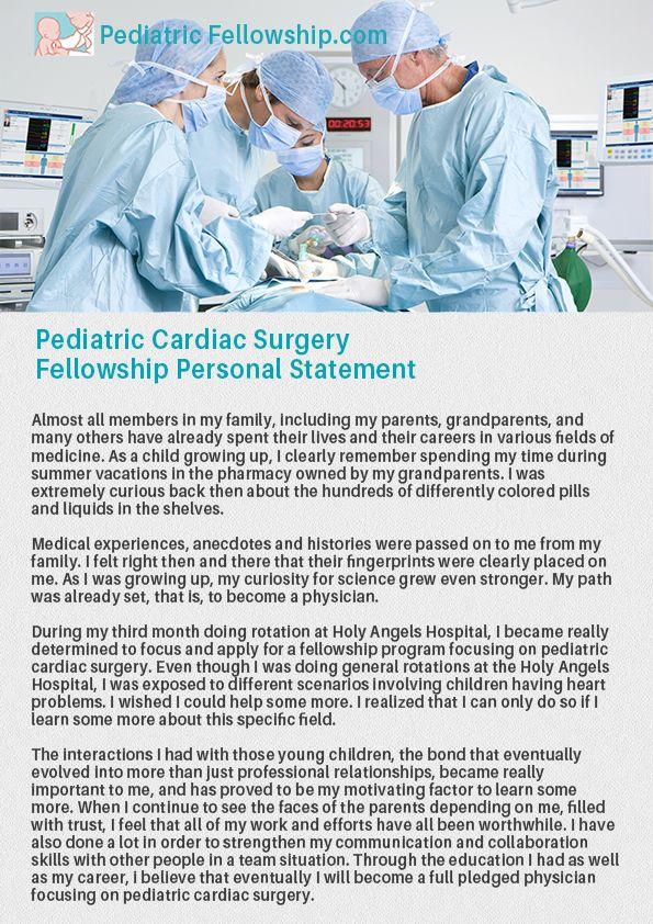pediatric-anesthesia-fellowship-personal-statementjpg (595×842 - personal statement residency