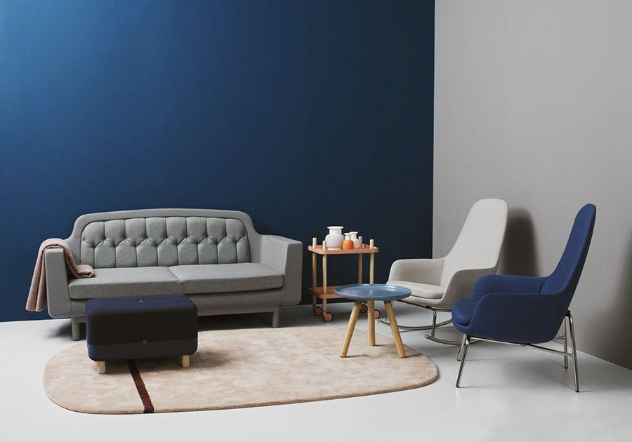 Guida colori per pareti: mini soggiorno con divano 2 posti ...