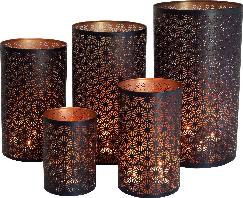 Runde metall teelichtlampe oder deckenlampe in 5 größen artlamp
