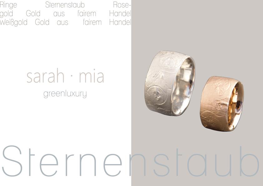 rings: sarah · mia