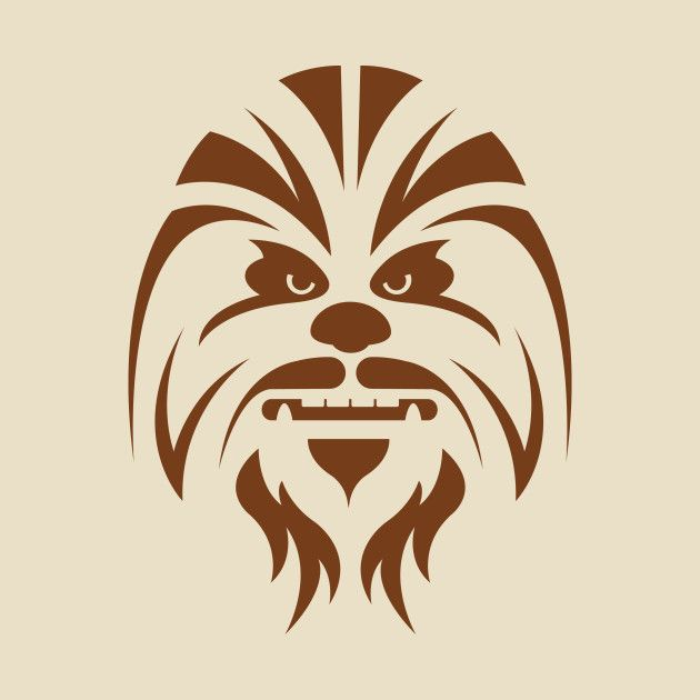 Chewbacca Silhouette Pinterest Chewbacca Star And
