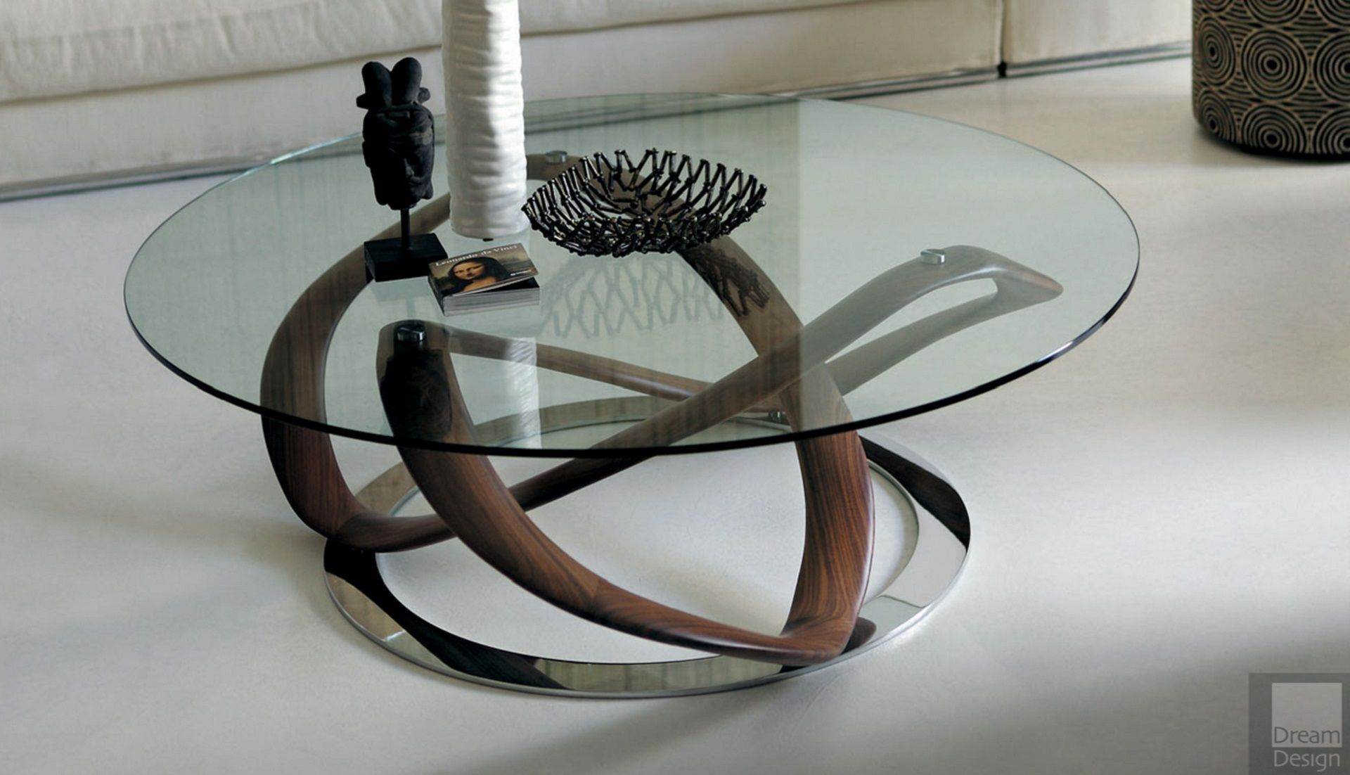 porada infinity round coffee table infinity coffee table with a 10