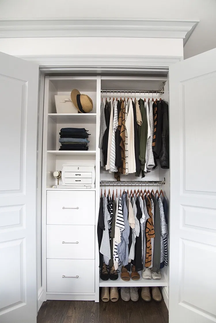 My Master Closet Reveal – Room for Tuesday Blog