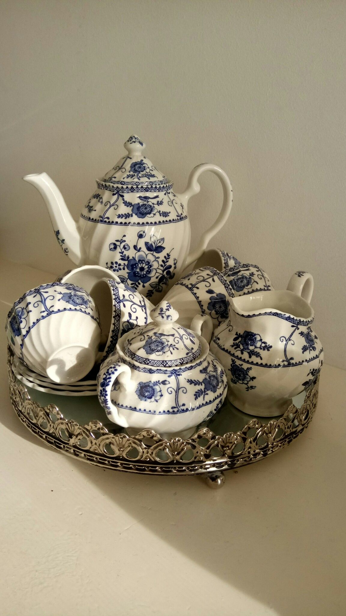 Gorgeous tea set #teapotset