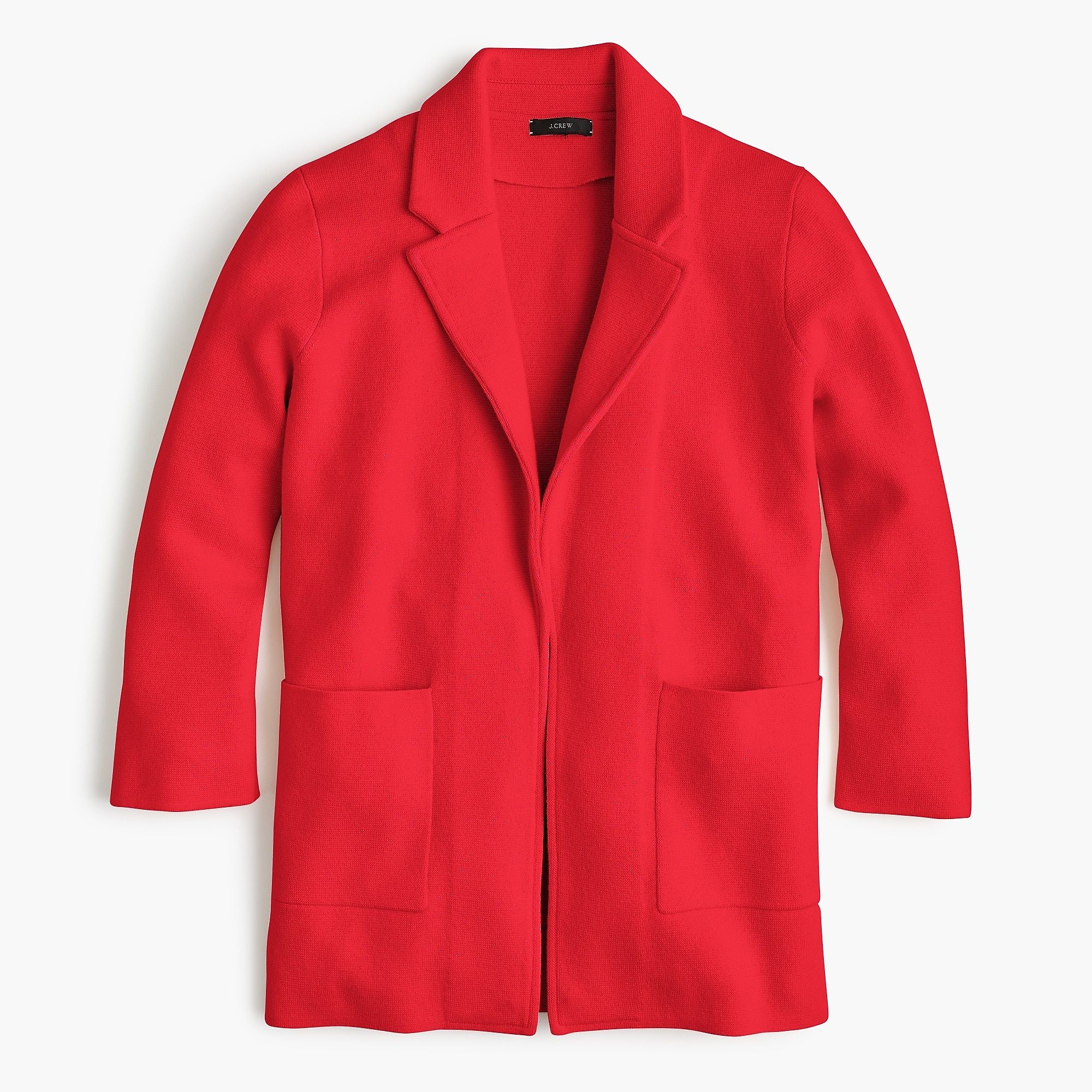 Shop The Womens New Lightweight Sweater Blazer At Jcrew And See