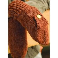 Subway Mittens - mittens with a pocket.