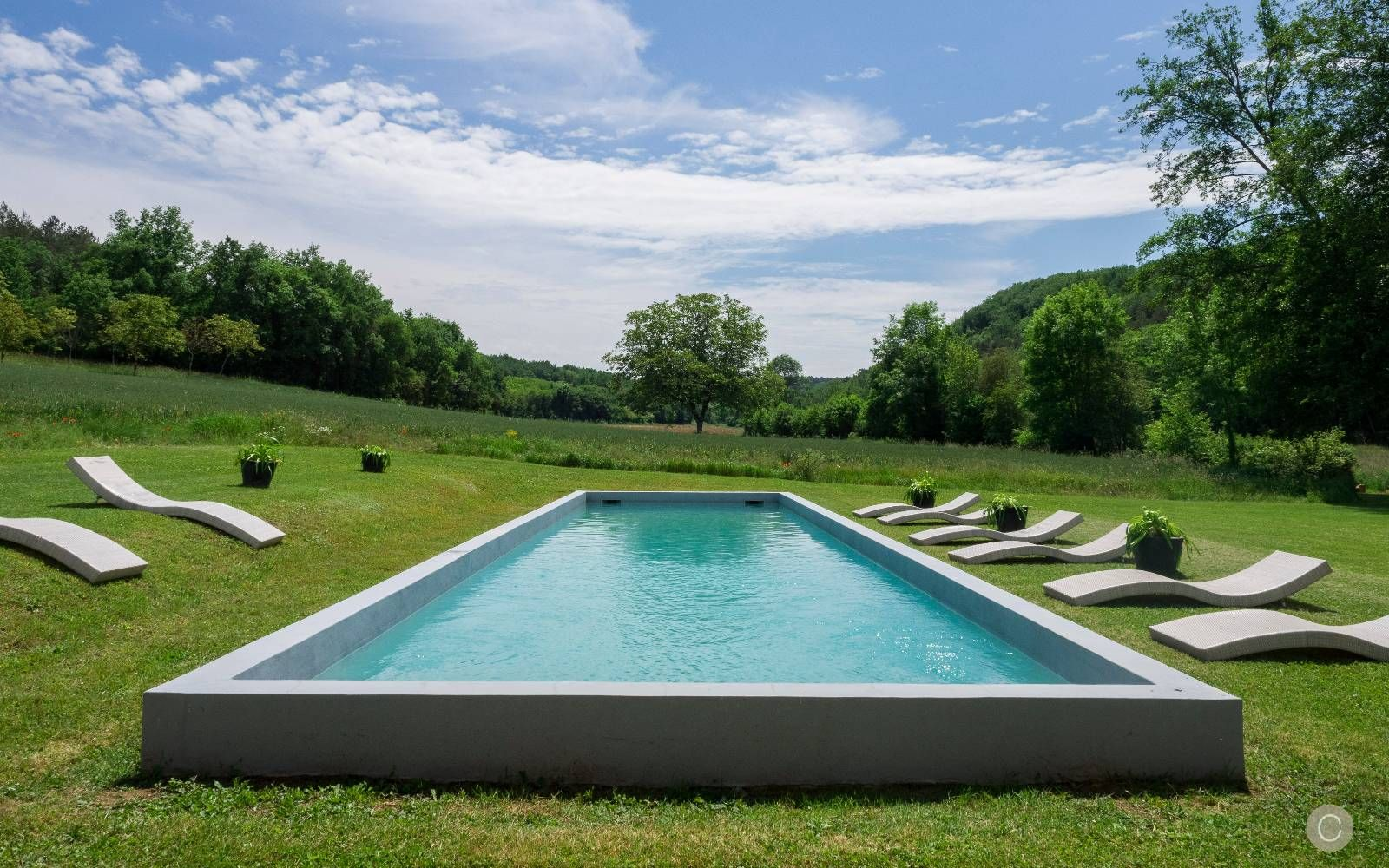 House · The Heated Outdoor Swimming Pool ...