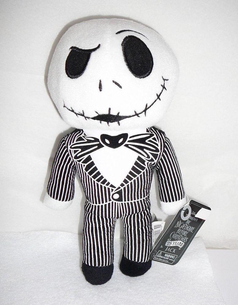 Disney s Nightmare Before Christmas Jack Skellington Plush Doll Stuffed Toy  9