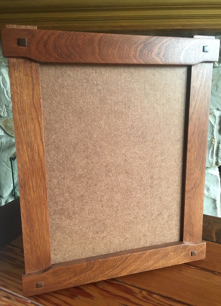 11x 14 Craftsman Cloudlift Frame Sapele Mahogany Arts And Crafts Interiors Picture Frame Crafts Arts And Crafts House