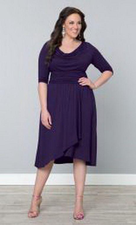 Plus Size After Five Dresses | Plus-Size After Five Cocktail Dress Draped in Class Plus-Size After ...