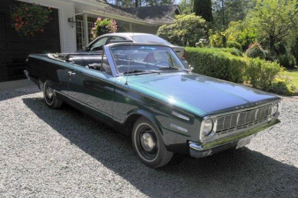 1966 Plymouth Valiant Convertible For Sale Craigslist Vancouver