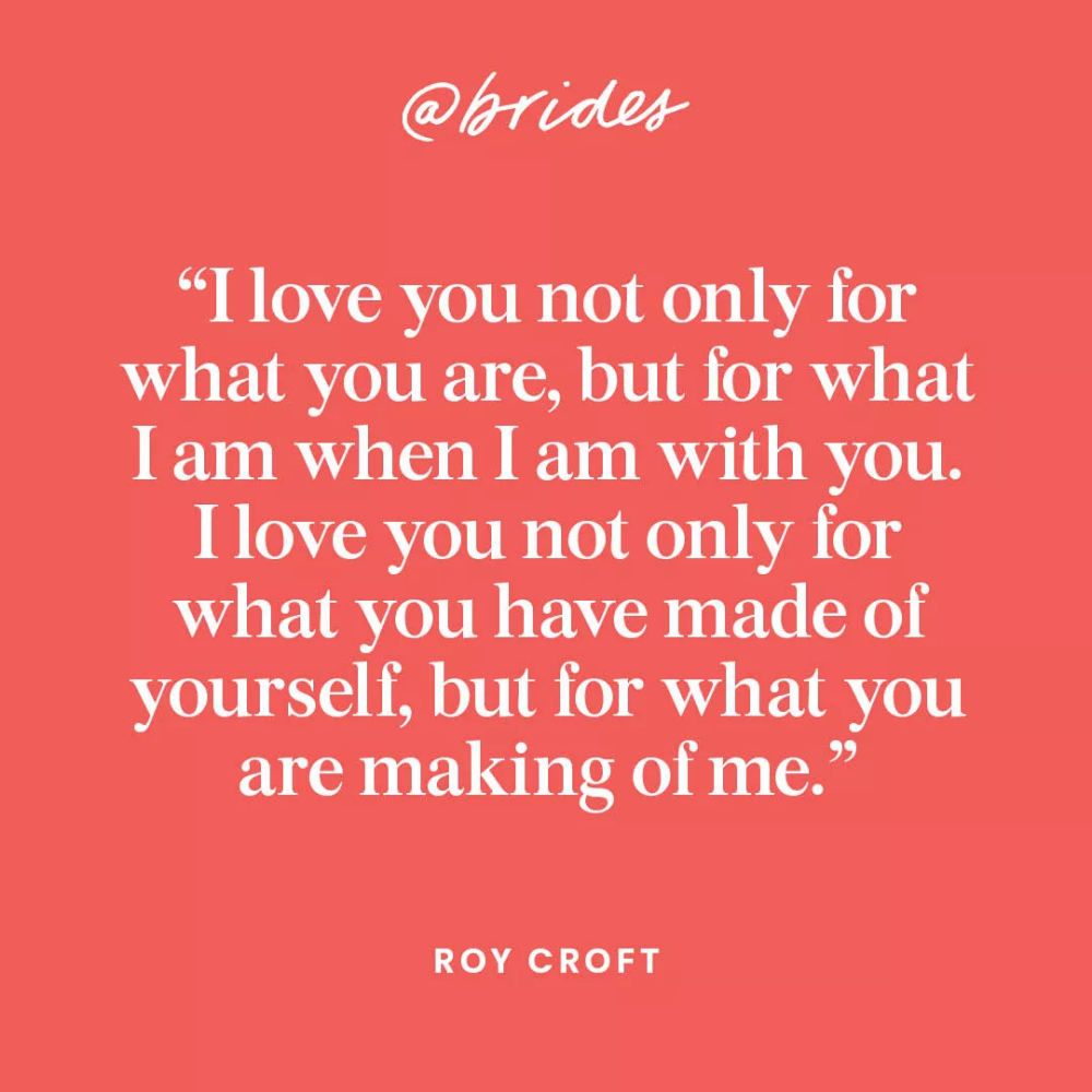 23 Impossibly Romantic Quotes to Incorporate Into Your
