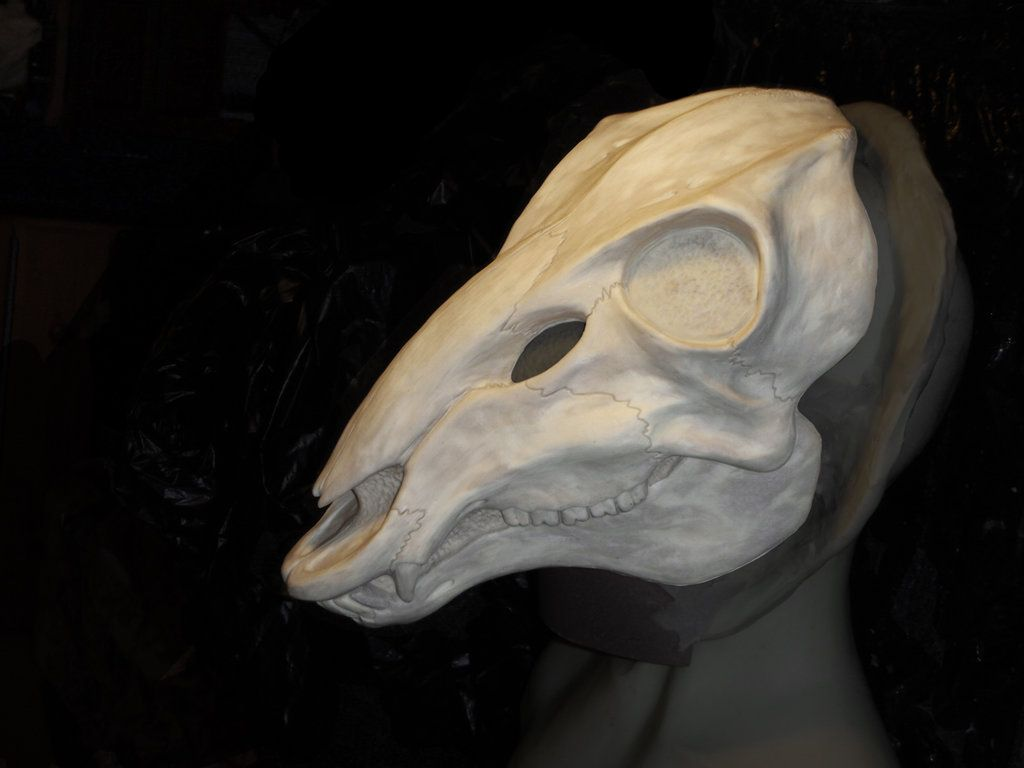 WIP - Deer Skull Mask by Bueshang.deviantart.com on @deviantART ...