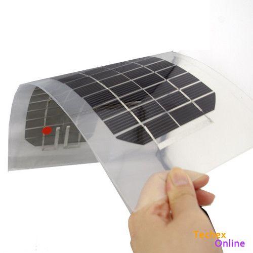 18v 4 5w Semi Flexible Monocrystalline Silicon Solar Cell Photovoltaic Panels