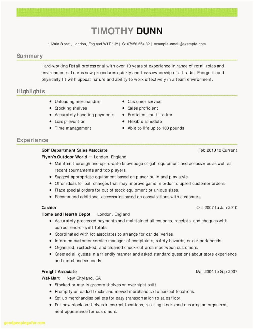 Receptionist Resume Examples 2019 Receptionist Resume