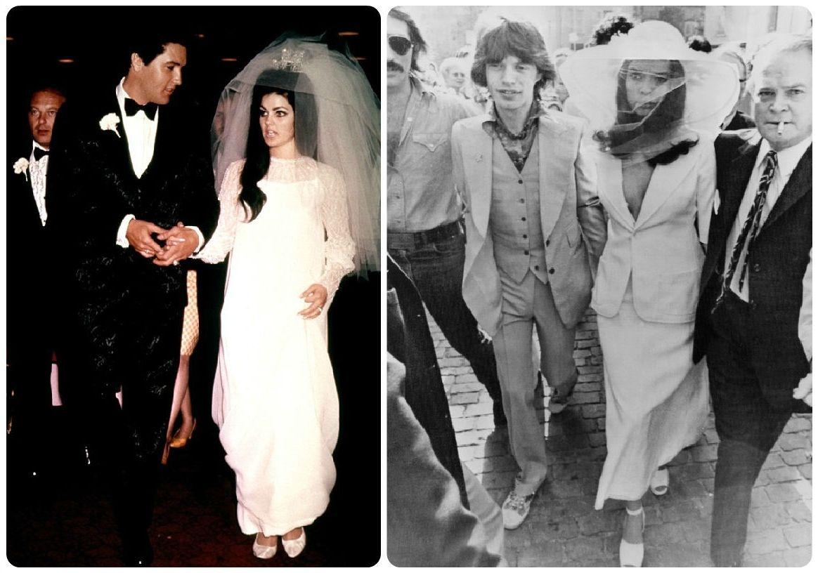 Priscilla Presley Wedding Dress Costume