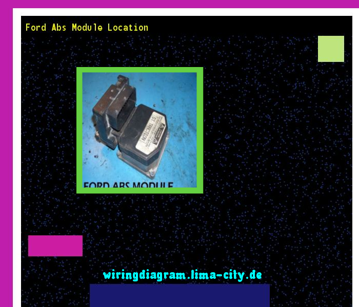 ford abs module location wiring diagram 175316 amazing wiring rh pinterest com ford focus abs wiring diagram ford transit abs wiring diagram
