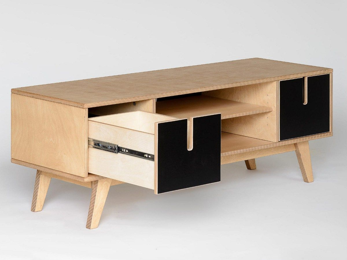 Buy Online Huh | Tv Cabinet By Radis, Plywood Tv Cabinet, Huh Collection
