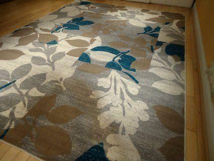 Large Multicolor Modern Area Rug Sets 8 11 And 5 Blue Carpet