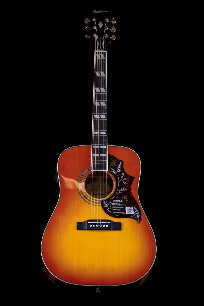 """""""The Epiphone Hummingbird PRO Acoustic/Electric guitar"""