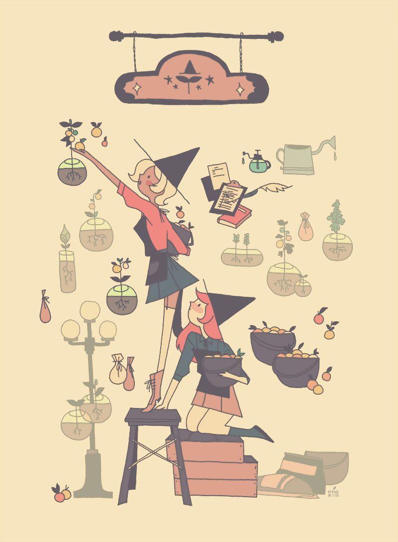 """ena-kim: """"witches """""""