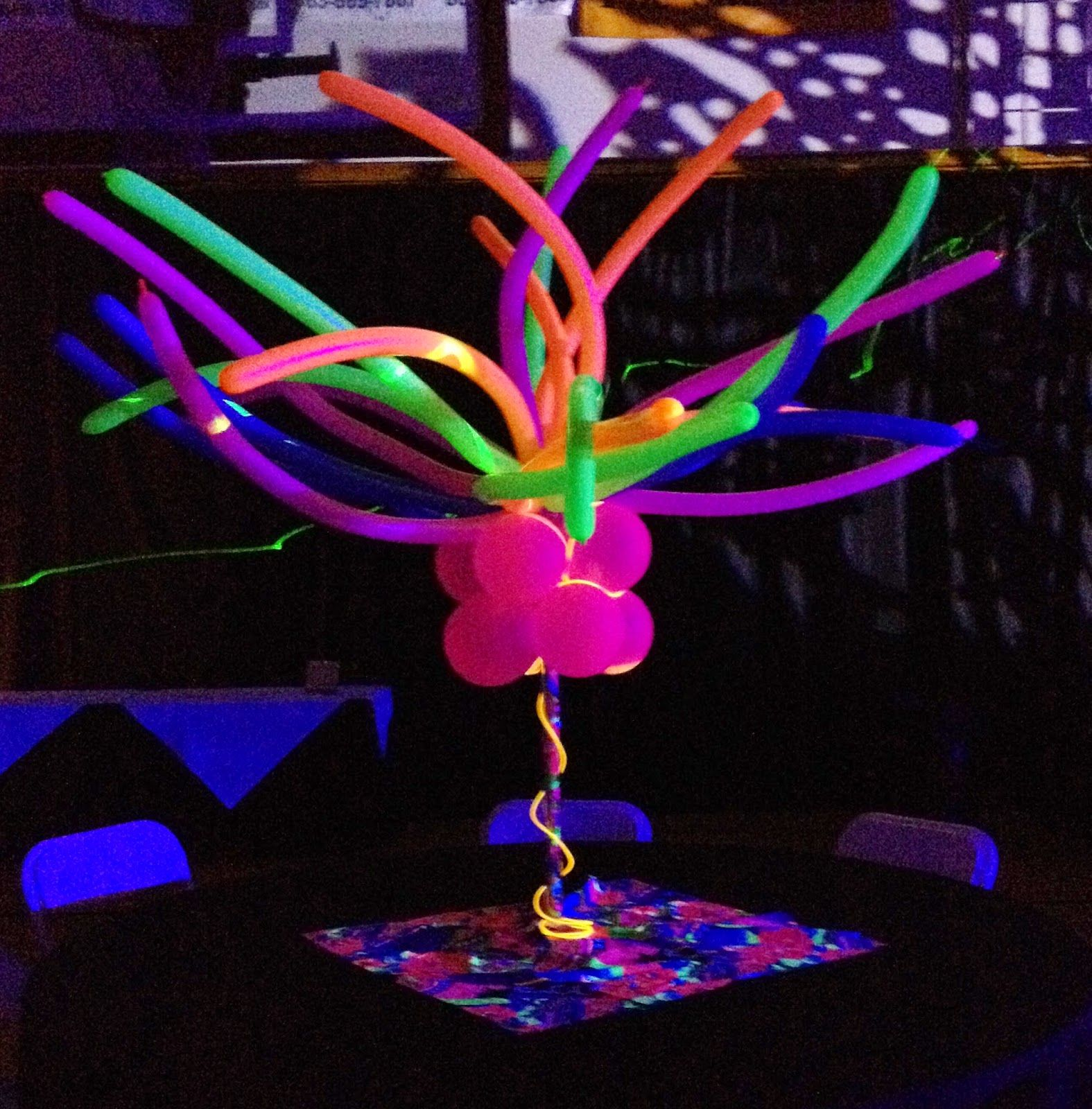 Awesome Balloon Centerpiece - Google Search