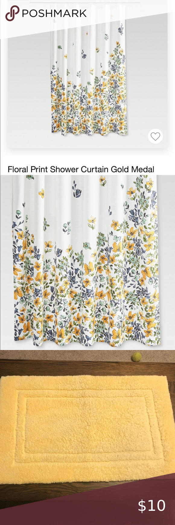 Floral Shower Curtain From Target In 2020 Floral Shower Floral