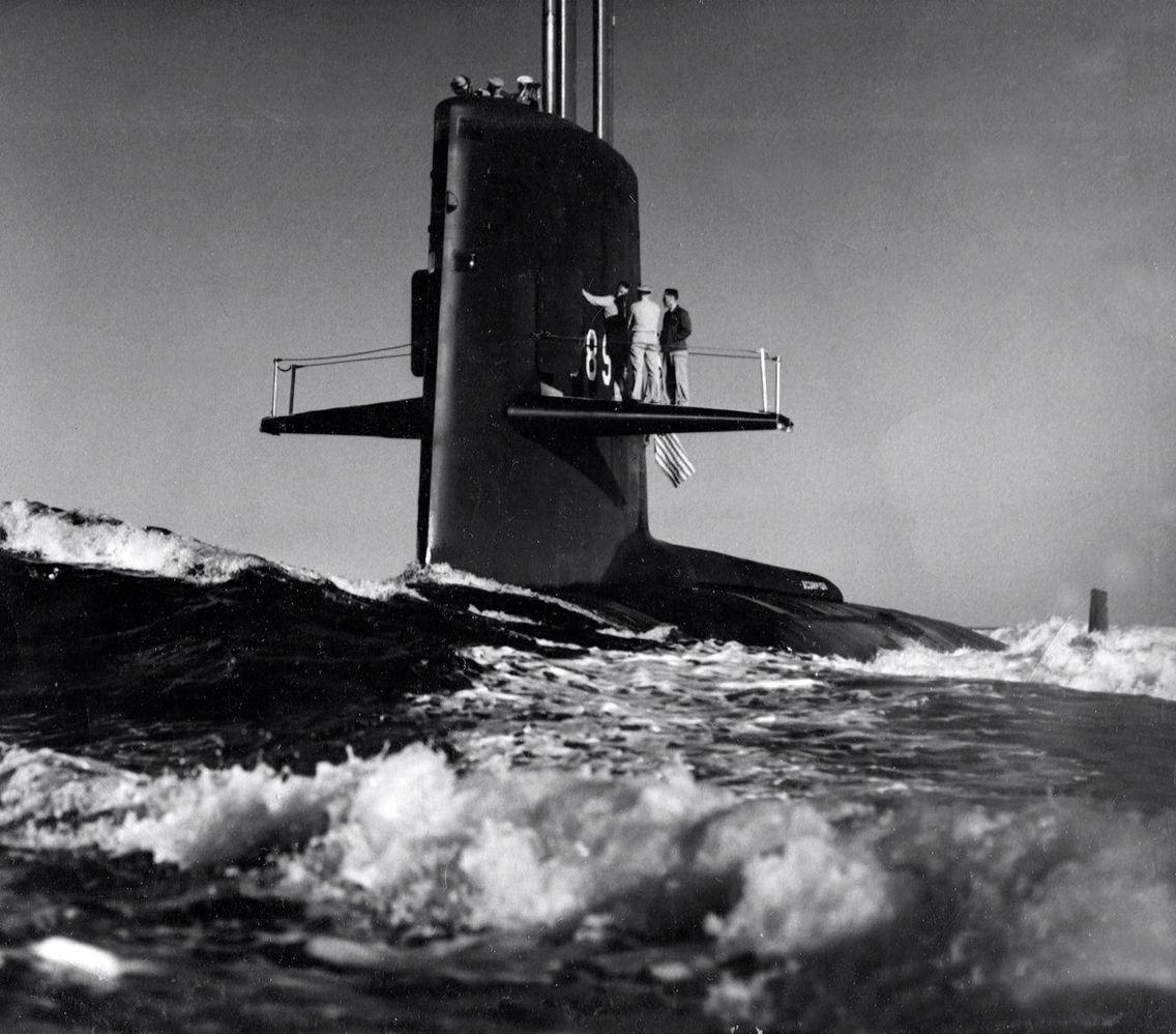 фото подводной лодки трешер вашему вниманию особую