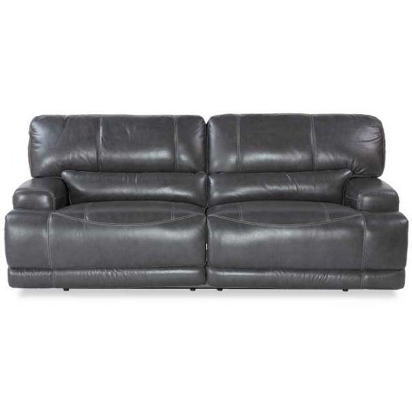 Beautiful Show details for Gear Charcoal Leather Power Reclining Sofa For Your House - Unique Charcoal Leather sofa Style