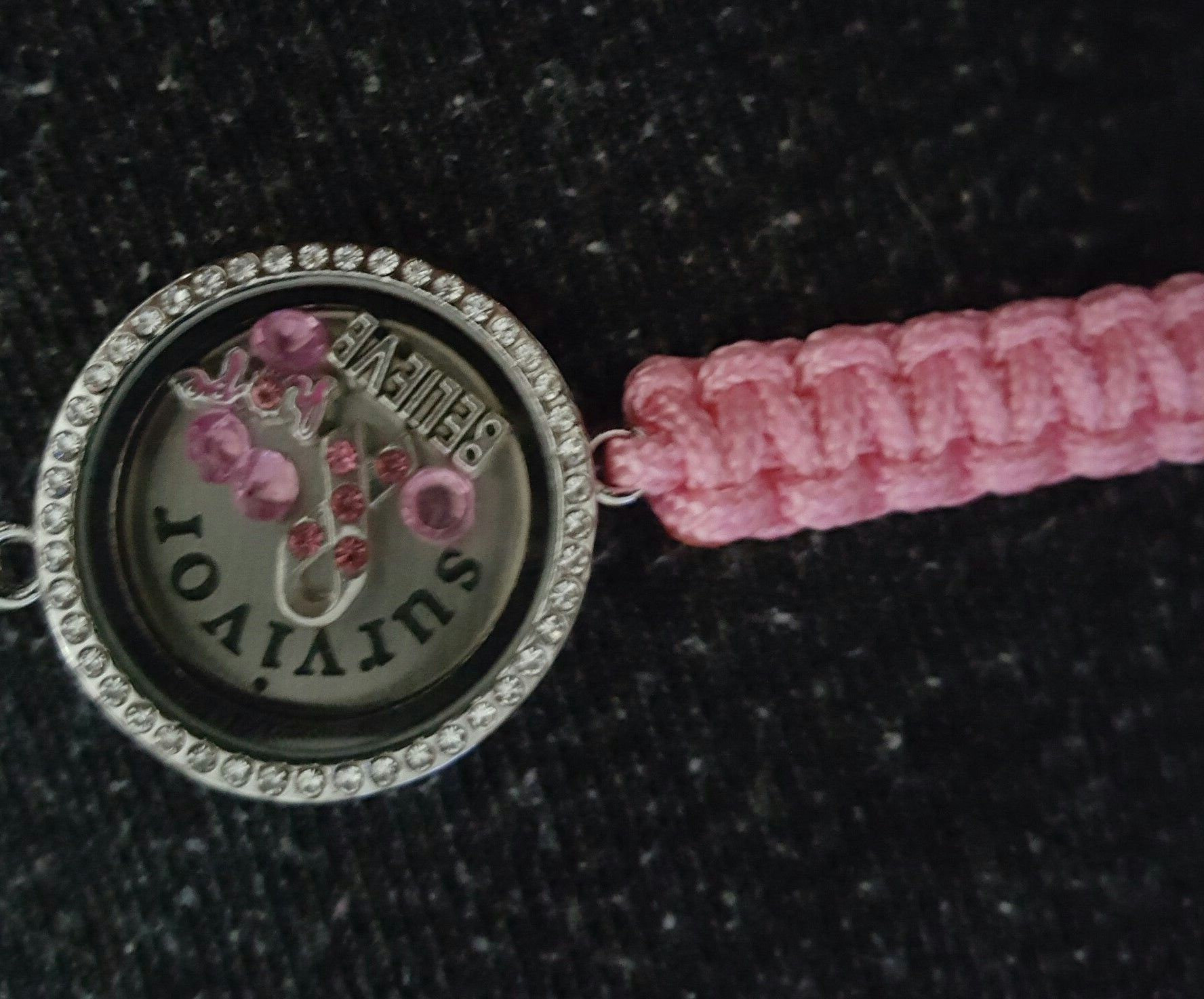 survivor products bracelet piper lou donation cuff breast cancer
