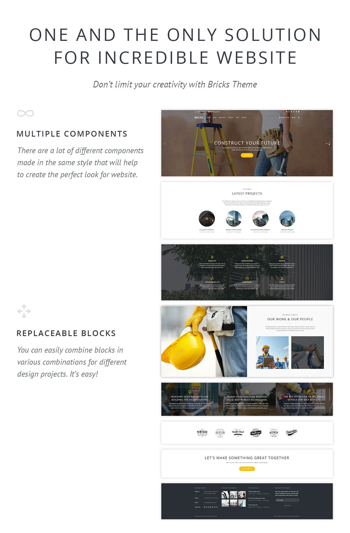 Construction & Building WordPress Theme – Bricks Are you involved in