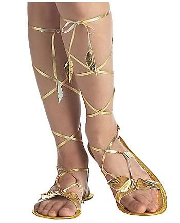8efa7d029 Goddess Sandals - great for different costumes: goddess, indian princess or  fairy.