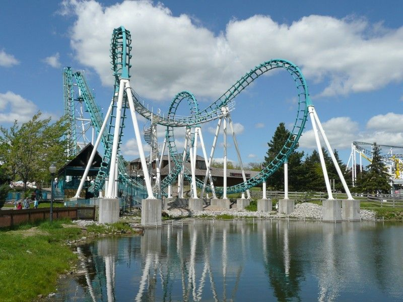 Six Flags Great Adventure Nitro Six Flags Great Adventure Greatest Adventure Amusement Park Rides