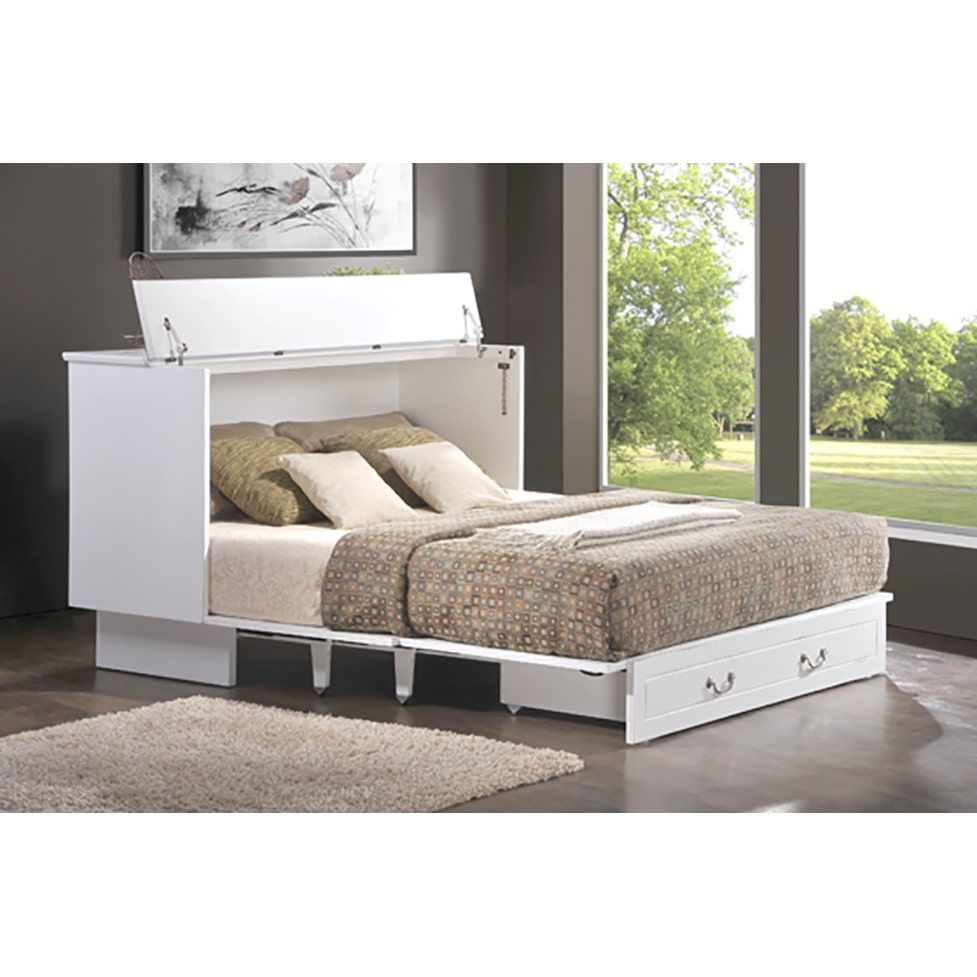 cottage style cabinet pull out queen size bed murphy bed ideas