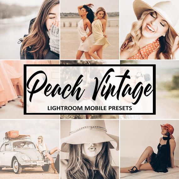Lightroom Mobile Presets Peach Vintage Preset Presets Lightroom Mobile Presets Warm Instagram Blogger Presets Lightroom Presets Portrait Lightroom Presets Lightroom Instagram Lifestyle